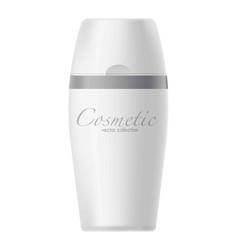 jar with cosmetics vector image vector image