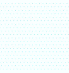cyan striped heart pattern seamless background vector image