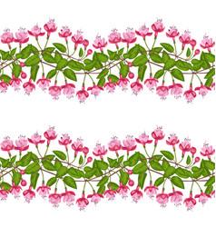 Fuchsia seamless pattern vector