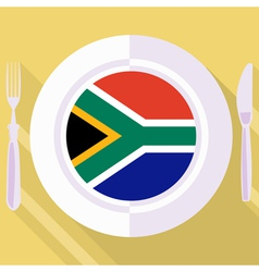 kitchen of South Africa vector image