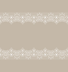 lace background luxury floral lace borders ornate vector image