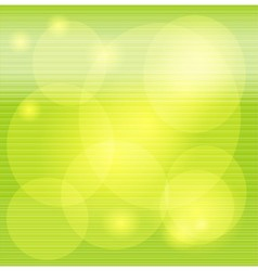 Light green striped decorative background vector