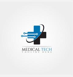 medical icon template creative logo design element vector image