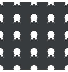 Straight black certificate seal pattern vector