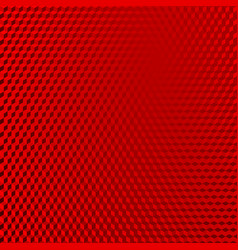 Vehicle reflective red abstract isometric shape vector