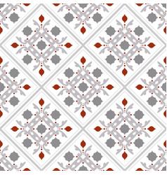 Vintage tile design vector