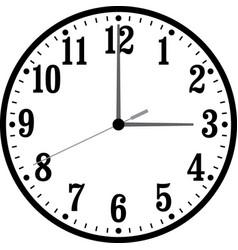 clock-002 vector image vector image