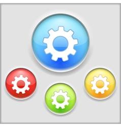 Gear Icon vector image vector image