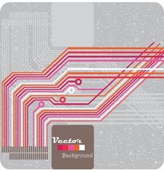 Retro grunge vector image vector image