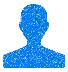 Customer Grainy Texture Icon vector image vector image