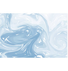 blue light abstract background ink marbling vector image