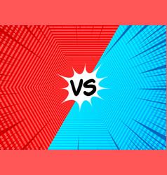 Comic versus concept vector