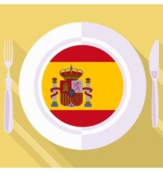 Kitchen of Spain vector