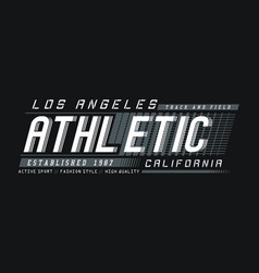 la california athletic sport vector image