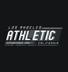 La california athletic sport vector