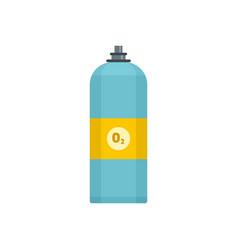oxigen spray icon flat style vector image