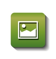 Picture image isolated icon vector