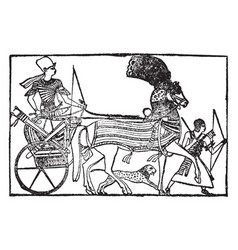 Ramses vintage vector