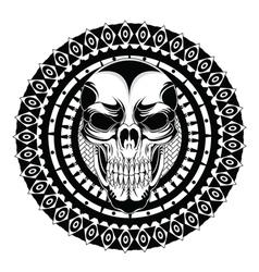 skull banger vector image