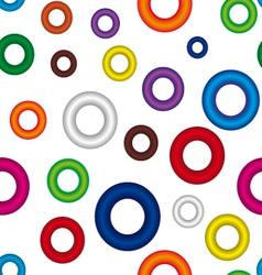 Ring background vector image vector image