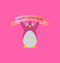 2019 happy new year greeting card celebration vector