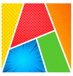 abstract colorful frames concept vector image