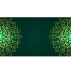 Banner with steampunk design elements vector