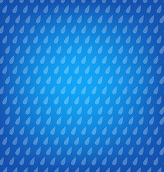 Blue Background With Drops vector