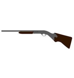 Isolated firearm icon vector