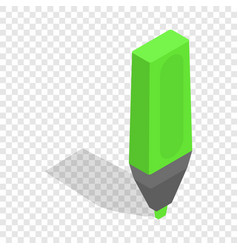 marker isometric icon vector image