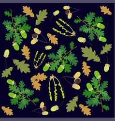 oak background vector image