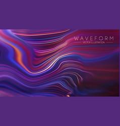 plexus retro technology background vector image