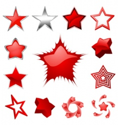 star graphics vector image vector image