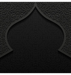 Abstract background with traditional ornament vector image
