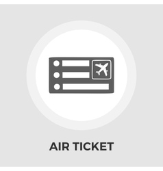Air Ticket Icon vector