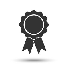 award icon sign simbol isolated on white vector image