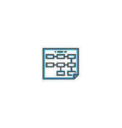 business icon design startup icon design vector image