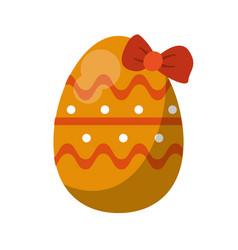Easter egg season celebrate vector