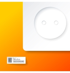 Electric outlet vector image