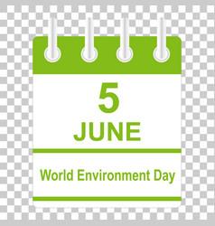 Environment day vector