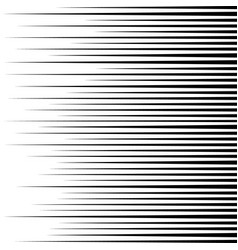 Fast speed lines vector