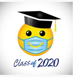Graduates 2020 social distance vector