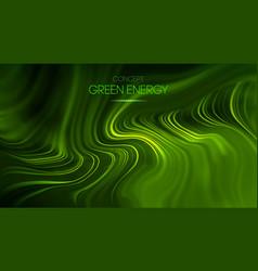 Green energy concept green technology vector