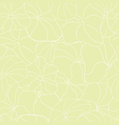 Lily pads neutral full coverage pattern vector