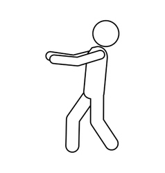 Man pictogram icon image vector
