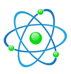 molecule icon stock vector image