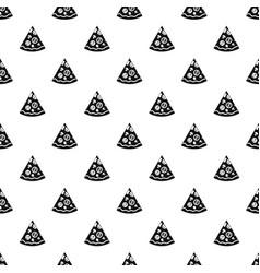 Pizza slice pattern vector