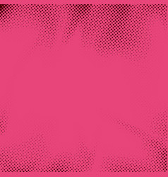 retro style pink dotted pop art grain background vector image