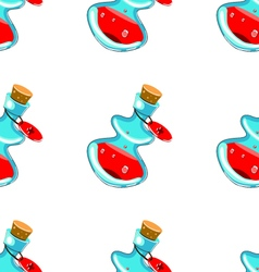 Seamless pattern with elixirs-2 vector