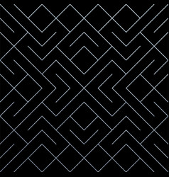 silver abstract geometric pattern tile background vector image